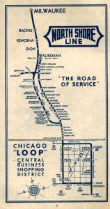 North Shore Map 1939
