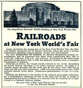 Railroads at the Fair