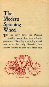 Modern Spinning Wheel page 1