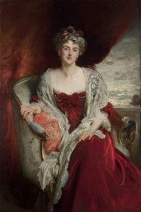 Mrs. Dorothy Allhusen, by John Singer Sargent, 1907