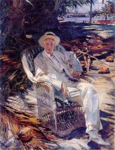 Charles Deering, by John Singer Sargent, 1917