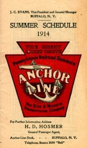Anchor Line 1914
