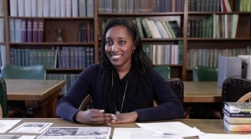 Charla Wilson, Archivist for the Black Experience