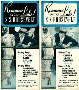 SS Roosevelt 1933