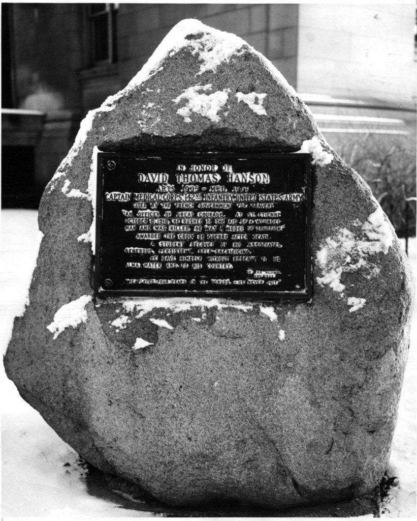 Hanson Monument