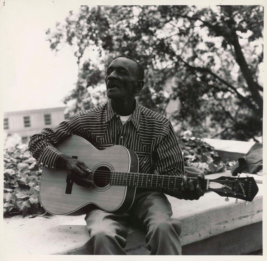 Bluesman Mance Lipscomb
