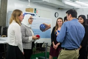 DTC students present their solution