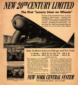 New York Central 20th Century Limited