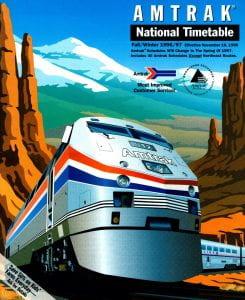 Amtrak 1997 Timetable