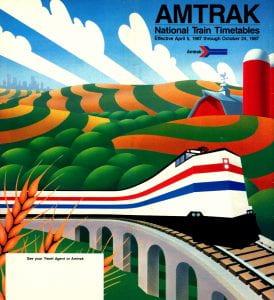 Amtrak 1987 Timetable