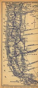 Southern Pacific 1941 Map