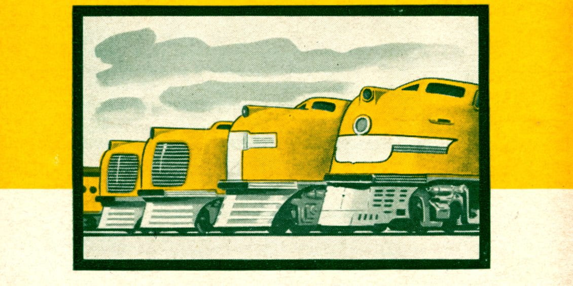 Union Pacific Streamliners - December 1942