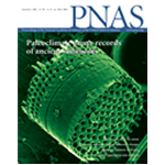 A diatom from Lake CF8 was the cover model for this issue of PNAS.