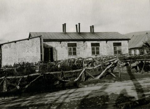 Cook House with Chinese Camouflage