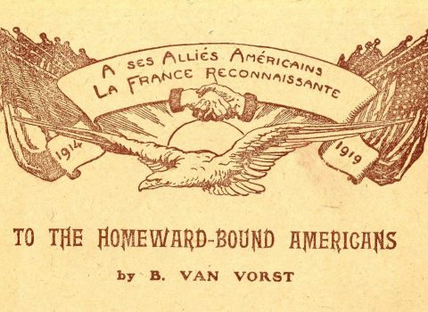 Booklet, To the Homeward-Bound Americans