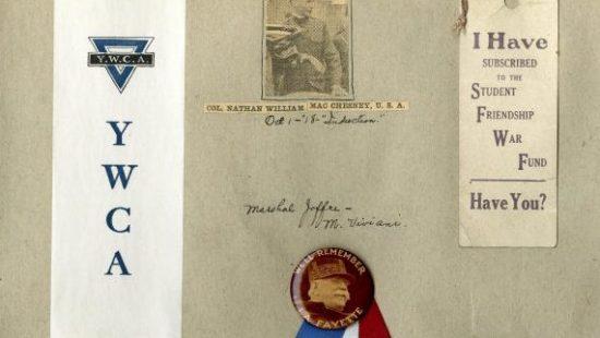 Student scrapbook, 1917-18