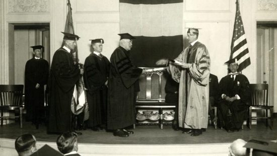 Honorary Degree Ceremony, 1922