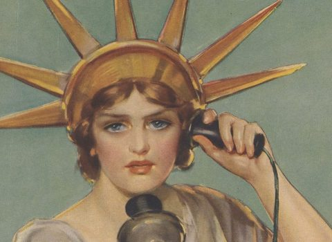"""Hello! This is liberty speaking – billions of dollars needed and needed now."" Z. P. Nikolaki: September 15, 1918; Liberty Bonds & Funds."