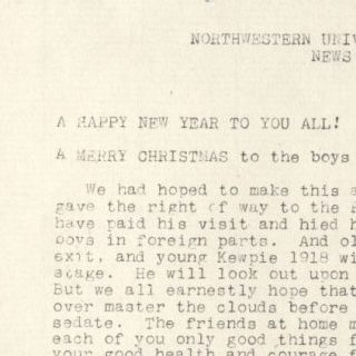 Soldiers' Newsletter, 10 December 1917