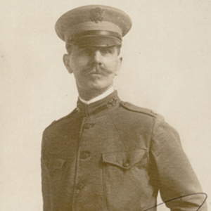 Photograph of Wigmore in His Major Regalia, ca. 1917