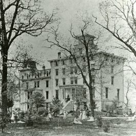 The North-Western Female College, 1860s