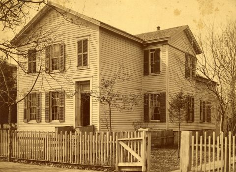 Swampscot, the Willards' First Home in Evanston. FWHA