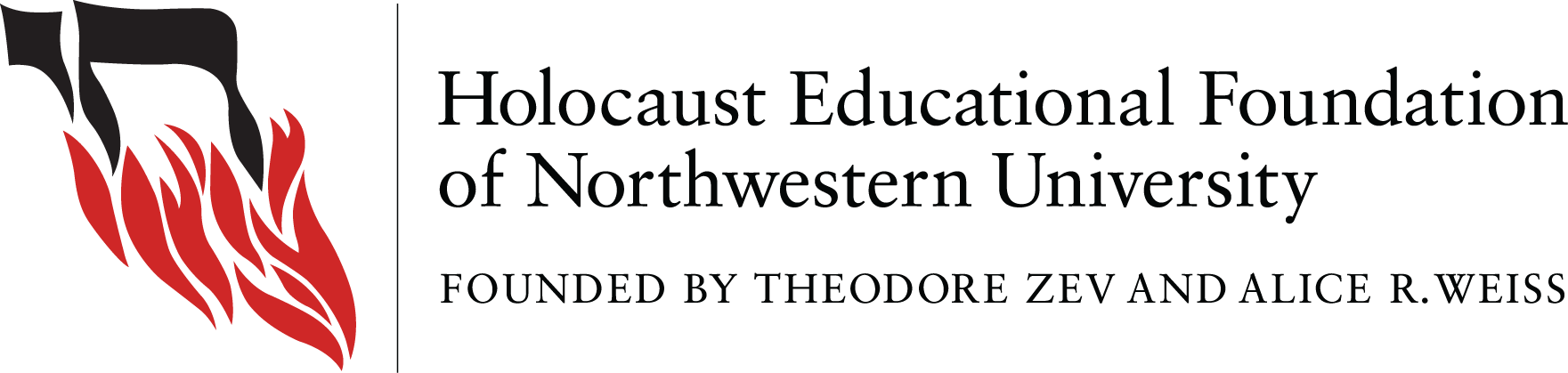 Holocaust Educational Foundation of Northwestern University logo
