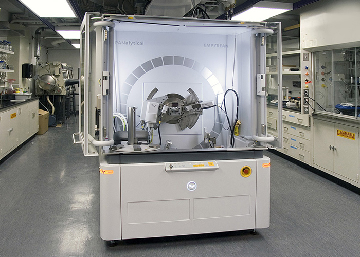 PANalytical Empyrean powder X-ray diffractometer.