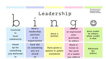 Leadership Bingo