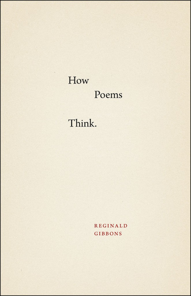 How Poems Think Cover