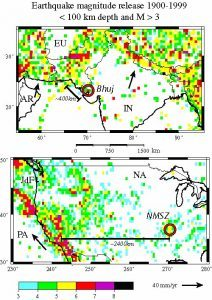 the bhuj earthquake and the western boundary of the indian plate