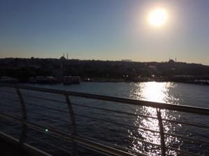 sun over sultanahmet