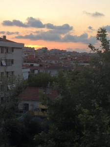 sunset from ertugrul's place