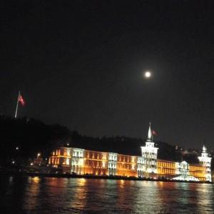 boat tour night