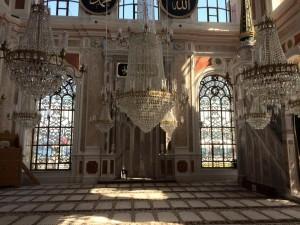 ortakoy mosque inside