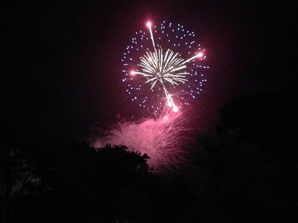 My first eye-witnessing of Fourth of July celebration, done right.