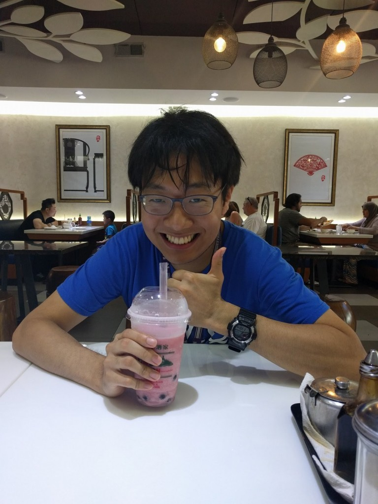 This is me! With a DELICIOUS smoothie.