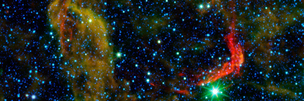 The dusty remains of the oldest documented example of an exploding star.