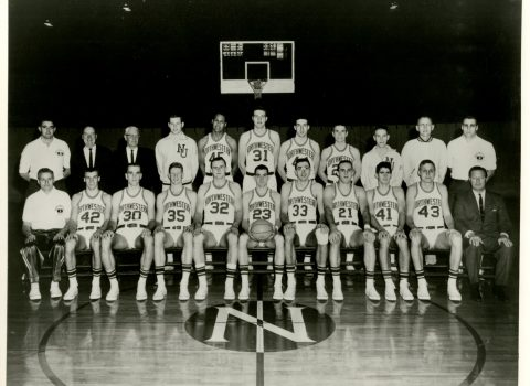 Varsity Basketball Team, 1963