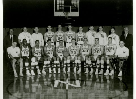 Varsity Basketball Team, 1964