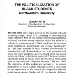 Politicalization of Black Students at NU