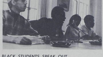 History: Why Students Made Demands