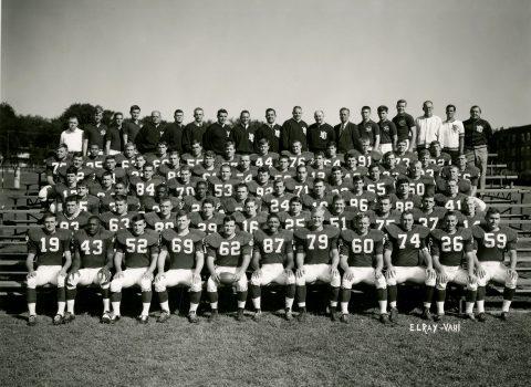 Varsity Football Team, 1965