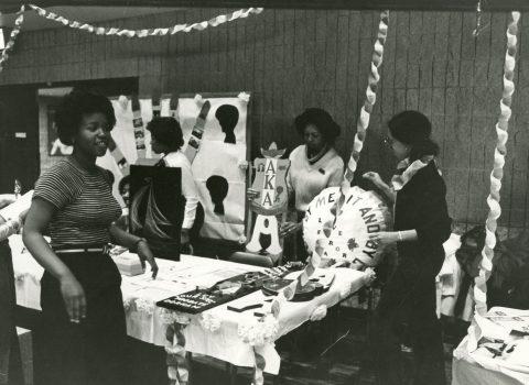 FMO club fair, 1978