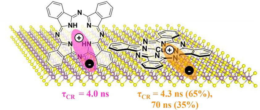 Molecular Orientation-Dependent Interfacial Charge Transfer in Phthalocyanine/MoS<sub>2</sub> Mixed-Dimensional Heterojunctions
