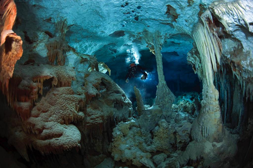 ¿Cómo se formaron cuevas y cenotes? Espeleogénesis