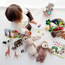 Infants can use a few labeled examples to spark the acquisition of object categories