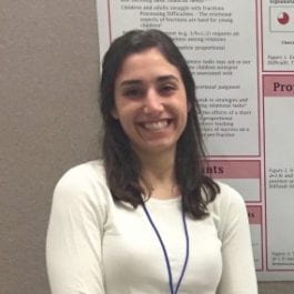 Naomi Polinsky named DevSci's new Graduate Student Fellow for 2019