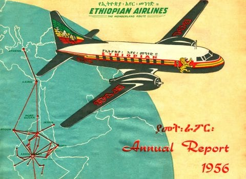 Ethiopian Airlines - Annual Report 1956