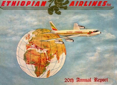 Ethiopian Airlines - Annual Report 1966